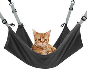 Cat Hammock Bed Hanging Soft Pet Pets Crib for Small Pets 2 in 1 Summer & Winter