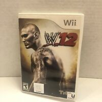 WWE '12 (Nintendo Wii, 2011) Complete, Tested -