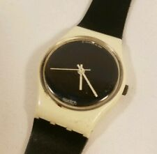 "Vintage 1987 Swatch Watch ""Big Eclipse"" Women's GW-400"