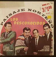 """Los Desconocidos """"Paisaje Norteño"""" Vinyl Record LP"""