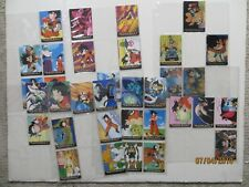 1996 Dragon Ball Z Lot of Cards