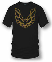 Wicked Metal Shirt - Trans Am Firebird Logo - Black