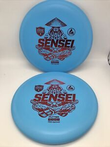 *New* Discmania - Active - Sensei 167-169g - Putter Pair - Blue w/ Red Stamp