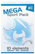 BigBen Mega Sports Pack 10in1 pour Nintendo Wii, Blanc 4742