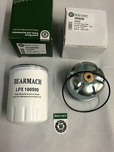 Bearmach Defender or Discovery 2 TD5 Oil & Rotor Filter Kit -LPX100590R ERR6299