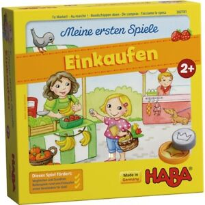 Haba My First Games Shopping 302781 Compare And Mapping From 2 Years