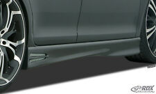 RDX minigonne AUDI a4 b8 8k pagine Gonne Set Spoiler BARRE ABS sl093