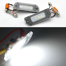 White CAN-bus LED License Plate Light For Mercedes ML GL R Class W164 X164 W251