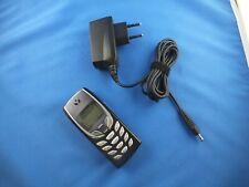 Nokia 6510 Handy Schwarz Phone mit Akku Ladegerät Blau Licht Ohne Simlock Unlock