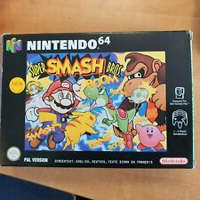 Nintendo 64 Super Smash Bros. ( PAL version) Boxed with Manual