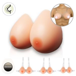 Silikon Künstliche Falsche Brüste Brustprothese Silikonbrüste mit Trägern