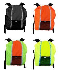 Yoko Hi Visibility  Viz Reflective Backpack Rucksack Cover
