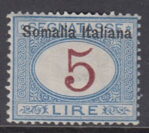 Italy Somalia Tax Sassone n.21 cv 960$ SUPER CENTERED  MH*