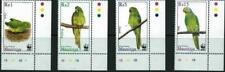 MAURITIUS - 2003 WWF 'PARAKEETS' Set of 4 MNH [A9971]