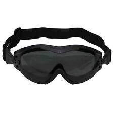 Brille Helikopter schwarz Bikerbrille Fliegerbrille Motorradbrille Sonnenbrille