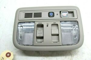 2019-2020 Honda Insight OEM Front Dome Light With Sunroof Switch And Switches