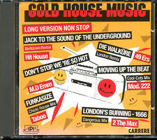 GOLD HOUSE MUSIC - LONG VERSIONS - CARRERE CD COMPILATION [1907]