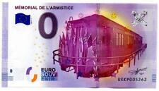 Billet Touristique - 0 Euro - Compiègne - Mémorial de l'armistice - 2017-1