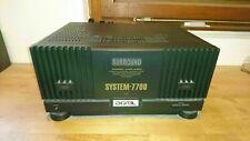 Sharp System 7700 Endstufe Amplificateur Poweramp Stereo Hifi Verstärker