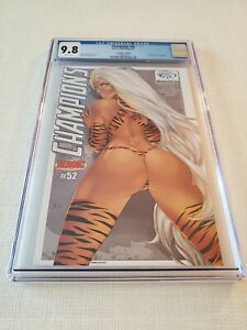 CHAMPIONS #52 ❤ ULTRA RARE ONLY 25 MADE ☆ SEXY CON EXCLUSIVE ♡ ONLY 9.8 CGC EVR