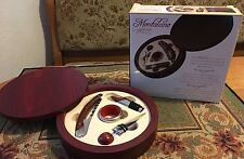 Montalcino 5 pc Wine Tool Set includes Mahogany Case by Lifestyle Products NIB