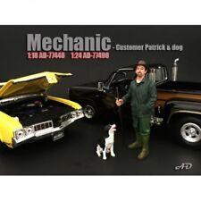 American Diorama 77498 Mann mit Hund 1/1000 1:24