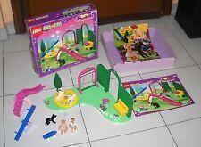 LEGO SYSTEM BELVILLE 5870 Parco Giochi Pretty Playland 1994 Spielplatz Completo