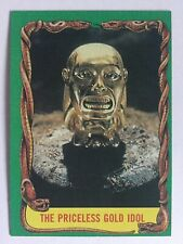 Indiana Jones Raiders Of The Lost Ark Topps 1981 Card 9 Priceless God Idol