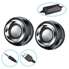 A26D 6W mini tragbarer Lautsprecher über 3.5mm Klinke USB für PC Laptop Notebook