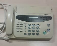 More details for fax machine copier & phone sanyo sfx-120 working