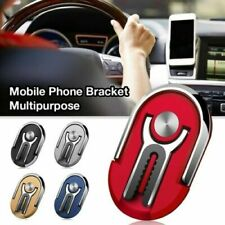 2in1 Phone Ring Finger Holder Car Mount Hook iPhone Stand Mobile Grip GPS AU