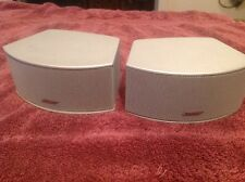 Bose Cinemate 3-2-1 321 Series I II III GS GSX, Gemstone Speakers, Silver Pair