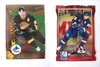 1997-98 Pacific Dynagon #125 Bure Pavel  dark grey  canucks