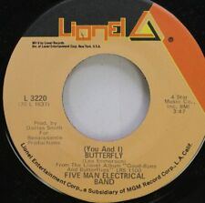 Rock 45 Five Man Electrical Band - (You And I) Butterfly / Absolutely Right On L
