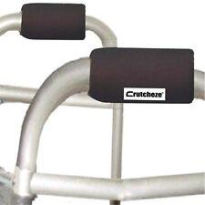 Black Walker Hand Grip Pads Covers Accessories Moisture Wick Crutcheze CRU0351
