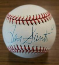 RON SANTO Autographed Signed Rawlings American League Ball 69 Cubs HOF ~ Beckett