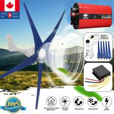 High Power 3000W 1000W Wind Turbines Generator Horizontal + Charge Controller