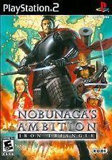 Nobunaga's Ambition: Iron Triangle (Sony PlayStation 2, 2009)-Complete