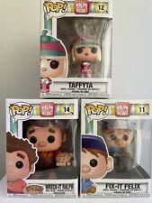 Disney Funko Pop! Wreck It Ralph Bundle Of 3 Pops Felix #11 Taffyta #12 Ralph 14