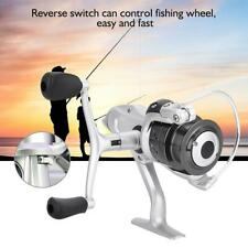 Spinning Fishing Reel with Exchangeable Handle Baitcast for Cast Line CZR2000