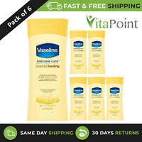 6 X VASELINE INTENSIVE CARE ESSENTIAL HEALING BODY LOTION HEALS DRY SKIN 200ML
