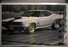 Sox & Martin Plymouth Barracuda Cuda Funny Car - Drag Race Copy Negatives