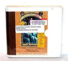 BOOK/AUDIOBOOK CD Age 8+ Snicket A SERIES OF UNFORTUNATE EVENTS SLIPPERY SLOPE