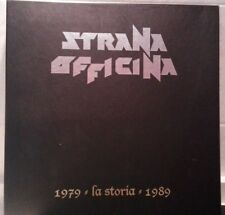 STRANA OFFICINA LA STORIA 1979. 4 LP VINYL BOX SET LIMITED EDITION. DEATH SS