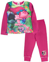 Dreamworks Trolls Pyjamas. Ages 4-5, 5-6, 7 -8 and 9-10 Years