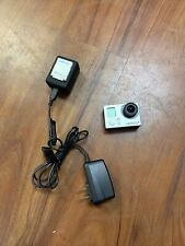 Used GoPro Hero 3+ Plus silver 1080P 10Mp Hd Sport WiFi (3 Batteries!)