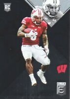 2017 Elite Draft Picks Football #177 Corey Clement RC Wisconsin