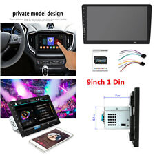 "Bluetooth 9"" 1 Din Car Stereo Radio HD Touch Screen USB Mirror Link MP5 Player"