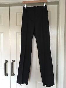 Alexandra ID241U Work Pants Wide Bottom Nurse Carer Trousers Black Size 14 X 33L