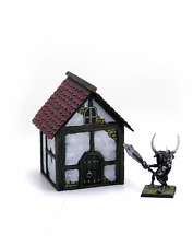 Painted Cottage 01 - Terrain for Warhammer/D&D